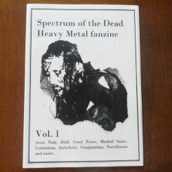 "SPECTRUM OF THE DEAD ""Issue 1"""
