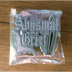 ABYSMAL GRIEF - Logo (Metal Pin)