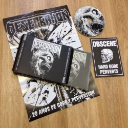 DESECRATION - 20 Years Of Perversion And Gore (Slipcase CD)