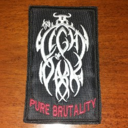 THE LIGHT OF DARK - Pure Brutality (Embroidered)