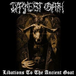 DARKEST OATH - Libations To The Ancient Goat (CD)