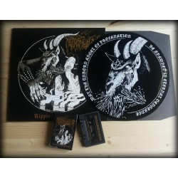 NECROMUTILATOR - Ripping Blasphemy (BUNDLE MLP+TAPE+WOVEN PATCH)