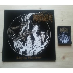 NECROMUTILATOR - Ripping Blasphemy (MLP+WOVEN PATCH)