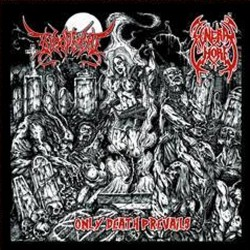 BLOODFIEND/FUNERAL WHORE - Only Death Prevails (CD)
