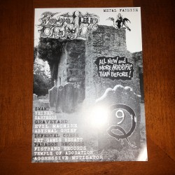 "FORGOTTEN CHAPEL ""Issue 9"" (Fanzine)"