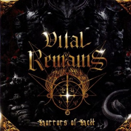 VITAL REMAINS - Horrors Of Hell  (Gatefold LP+7EP)