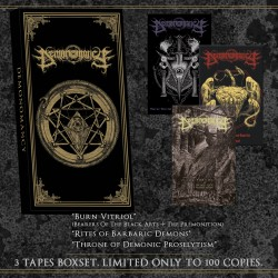 DEMONOMANCY  - Burnt Vitriol...A Relics Compendium (3-TAPES-BOXSET)