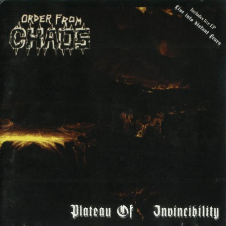 ORDER FROM CHAOS - Plateu Of Invincibility (CD)