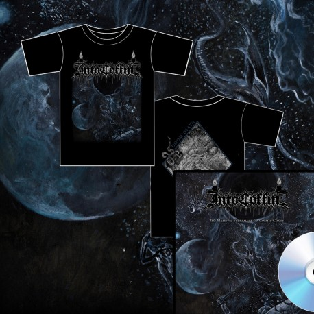 INTO COFFIN - The Majestic Supremacy Of Cosmic Chaos (BUNDLE MCD + T SHIRT)