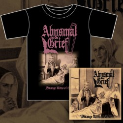 ABYSMAL GRIEF - Strange Rites Of Evil (BUNDLE CD+Tshirt)
