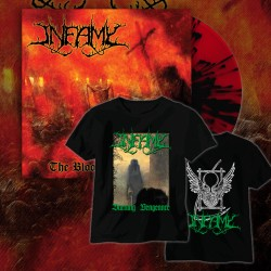 INFAMY – The Blood Shall Flow (BUNDLE BLACK LP+TSHIRT)