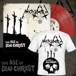 NECRODEATH - The Age Of Dead Christ (PRE-ORDER BUNDLE RED LP+TSHIRT)