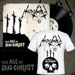 NECRODEATH - The Age Of Dead Christ (PRE-ORDER BUNDLE BLACK LP+TSHIRT)