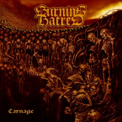 BURNING HATRED - Carnage (TAPE)