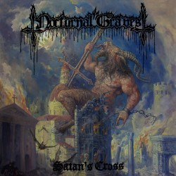 "NOCTURNAL GRAVES - Satan's Cross (LP+10"")"