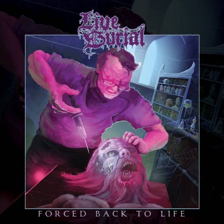 LIVE BURIAL - Forced Back To Life (LP)