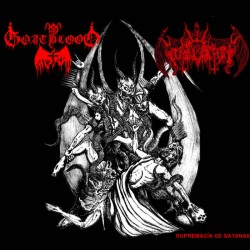 GOATBLOOD/NIHIL DOMINATION - Supremacia De Satanas (Digipack CD)